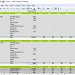 Joint Expense Tracking Spreadsheet