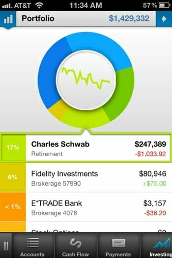 Personal Capital iPhone App