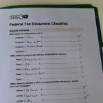 Use our free federal tax document checklist to help you get organized for your tax return.
