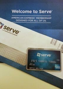 Serve is a new digital prepaid card from American Express.