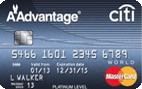 Citi® Platinum Select® / AAdvantage® World MasterCard®