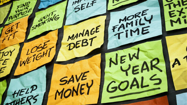 Some Reading for a New Year- How to Set Financial Goals and Stick to Them