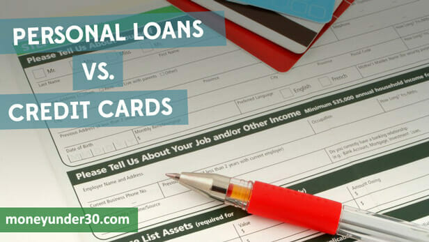 What's the difference between personal loans and credit cards -- when should you use each?