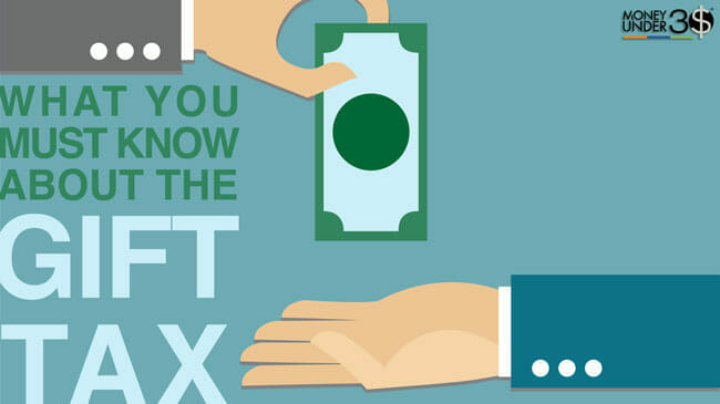The gift tax rules allow you to give or receive up to $14,000 before incurring taxes.