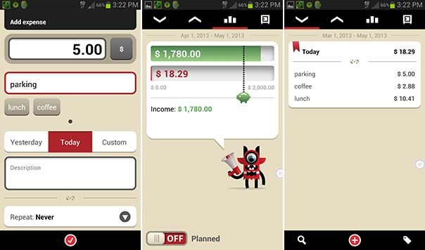 toshl review the budget app for iphone and android is beautiful in its simplicity