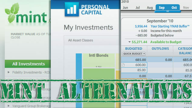 Alternative personal finance manager apps challenge Mint, the longtime leader in free online budgeting.