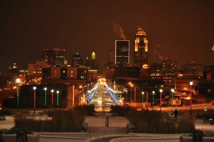 Des Moines: Courtesy of the Greater Des Moines Convention & Visitors Bureau