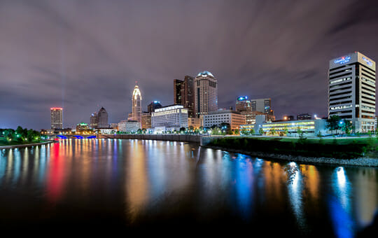 Columbus, Ohio is one of the best cities for the young broke & single. Photo credit: Ed Gately.