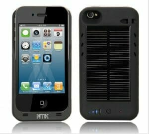 Father's day gift idea: Solar iphone charger.