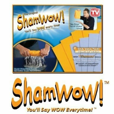 Father's day gift idea: Sham-Wow!