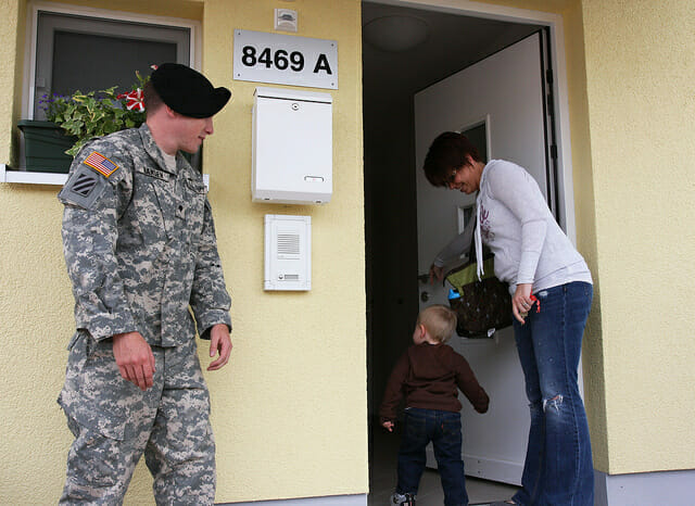 Housing options for military servicemembers: VA home loans, base housing, and more.