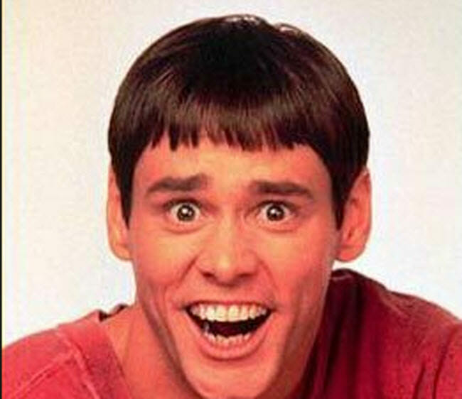 Jim Carrey from Dumb & Dumber
