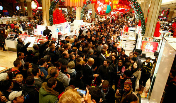 Black Friday shopping tips: The one day of the year it doesn't pay to place nice.