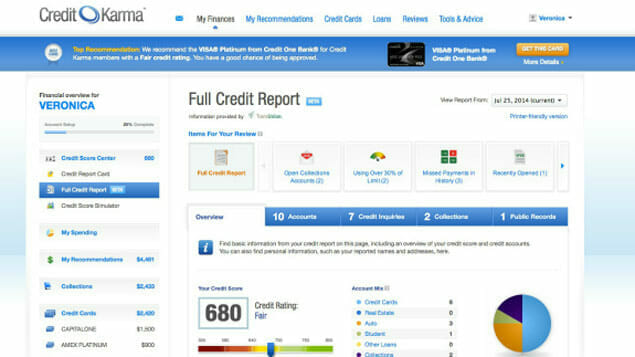 Credit Karma now offers free credit score and report.
