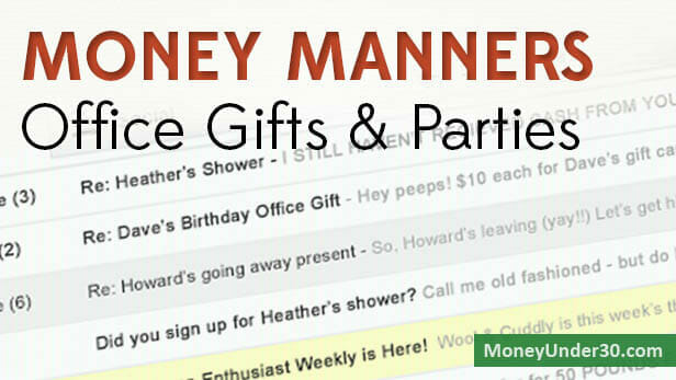 Money Manners: Do you have to chip in to buy coworkers gifts?
