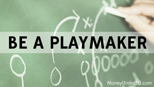 How to invest in sideways markets: Be a playmaker.