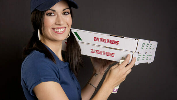 do you tip furniture delivery drivers if there is a delivery charge