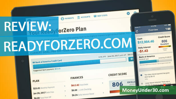 ReadyForZero is an online money app that helps you pay off debt on your own.