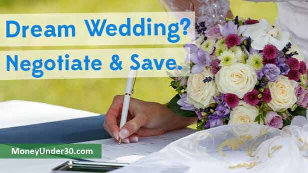 negotiating wedding costs