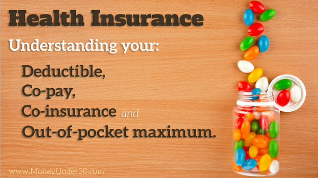 Health insurance: Understanding your deductible, copay, coinsurance, and out-of-pocket max.