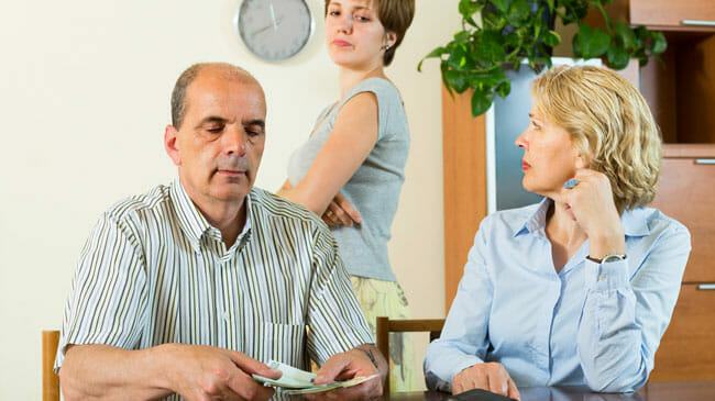 Asking your parents for money is awkward, but if they can afford it it's better than going into debt.