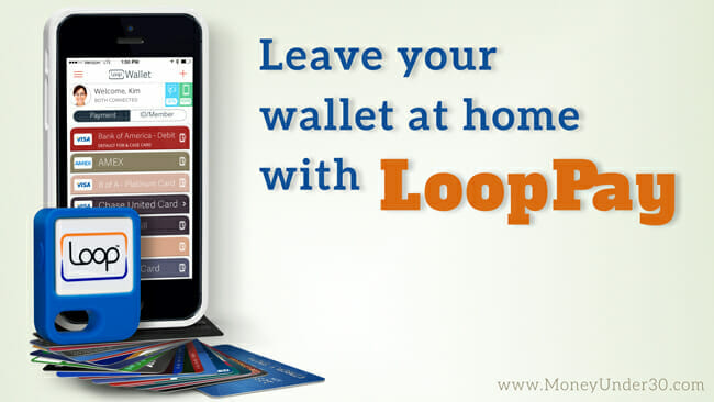 LoopPay is an app for iOs and Android that lets you pay almost anywhere without your wallet.