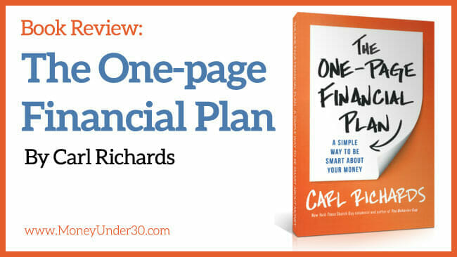 Book review: The One-page Financial Plan by Carl Richards.