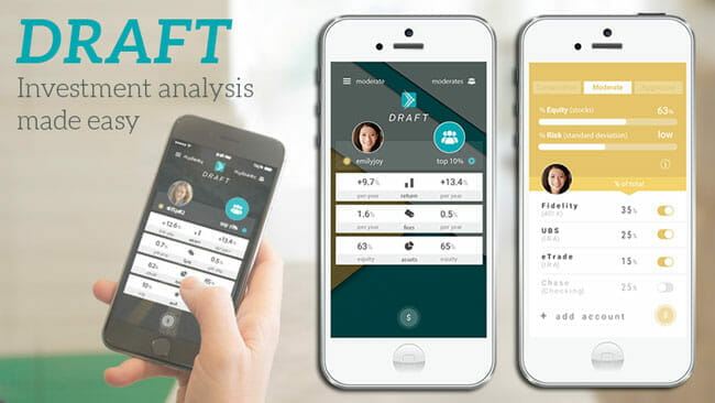 Draft App Review: Investment analysis made easy.