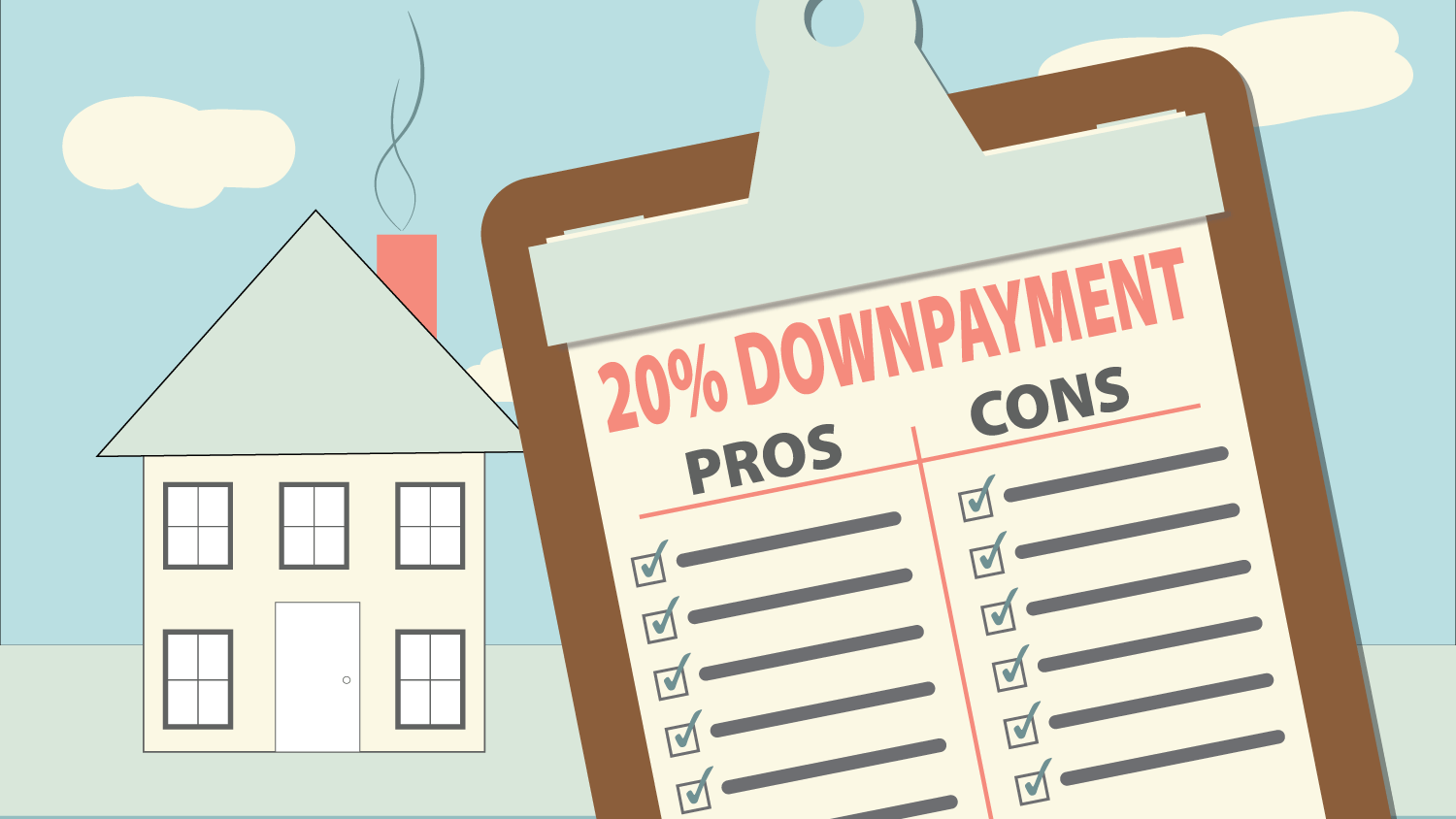 Are 20 Home Down Payments History
