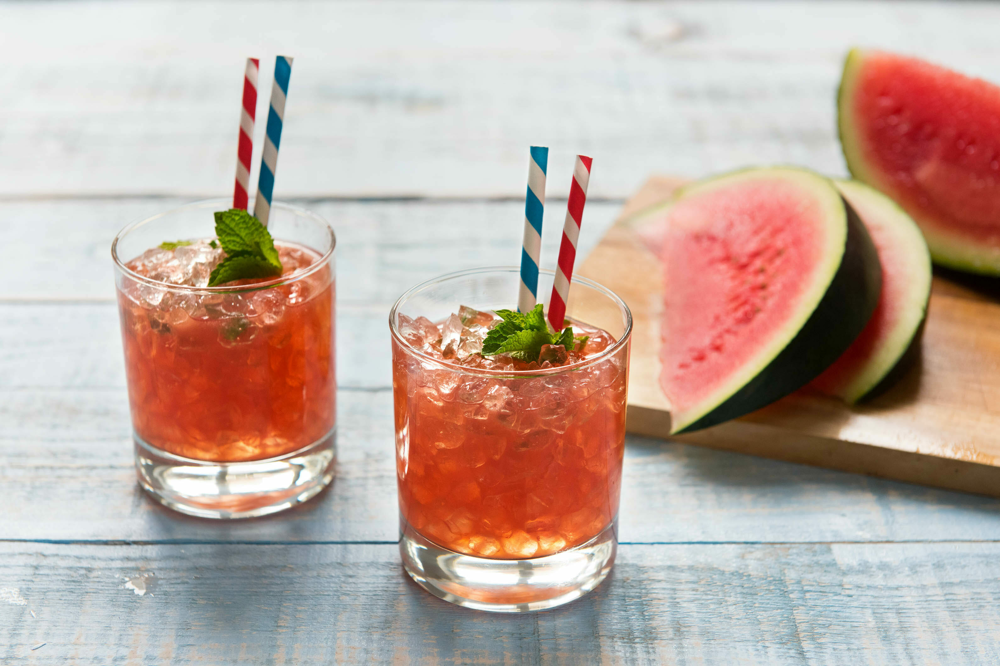 Hello Fresh: Watermelon Mint Juleps - Hello Fresh