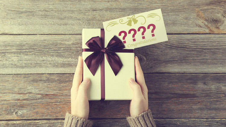 How Much To Give For A Wedding Gift And Not Look Money Under 30