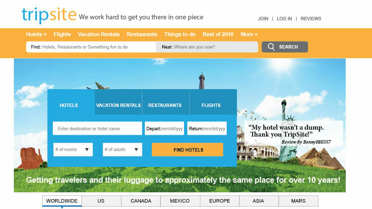 Best booking sites 7 superb sites for vacation planning for Best travel booking website