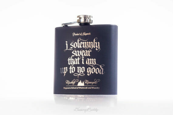 you can get a simple flask for your minimalist friends or a harry potter flask for your really cool friend that has