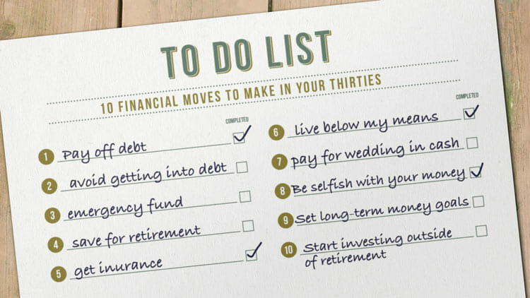 10 Financial Moves That Ll Help Make Your 30s More Fun Money Under 30