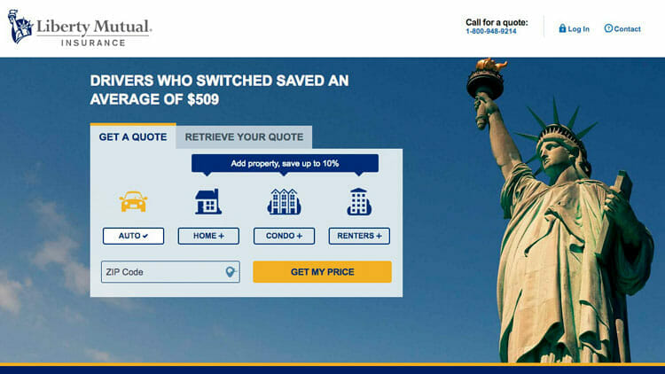 Liberty Mutual Car Insurance Quote Liberty Mutual Reviewthe Doityourself Car Insurance  Money .