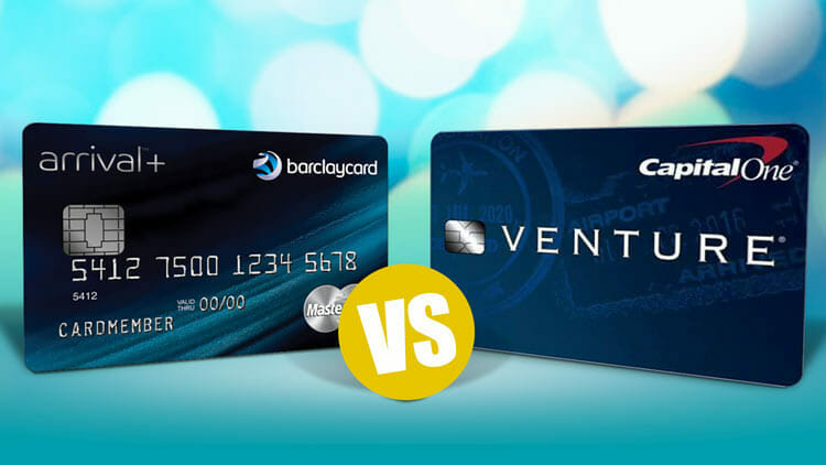 Capital One Venture Vs Barclaycard Arrival Plus