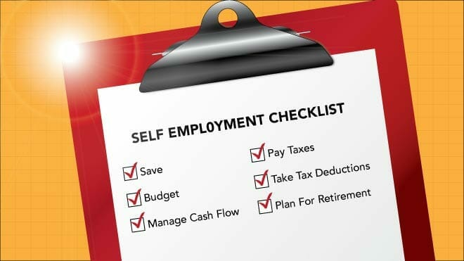tips for the self employed