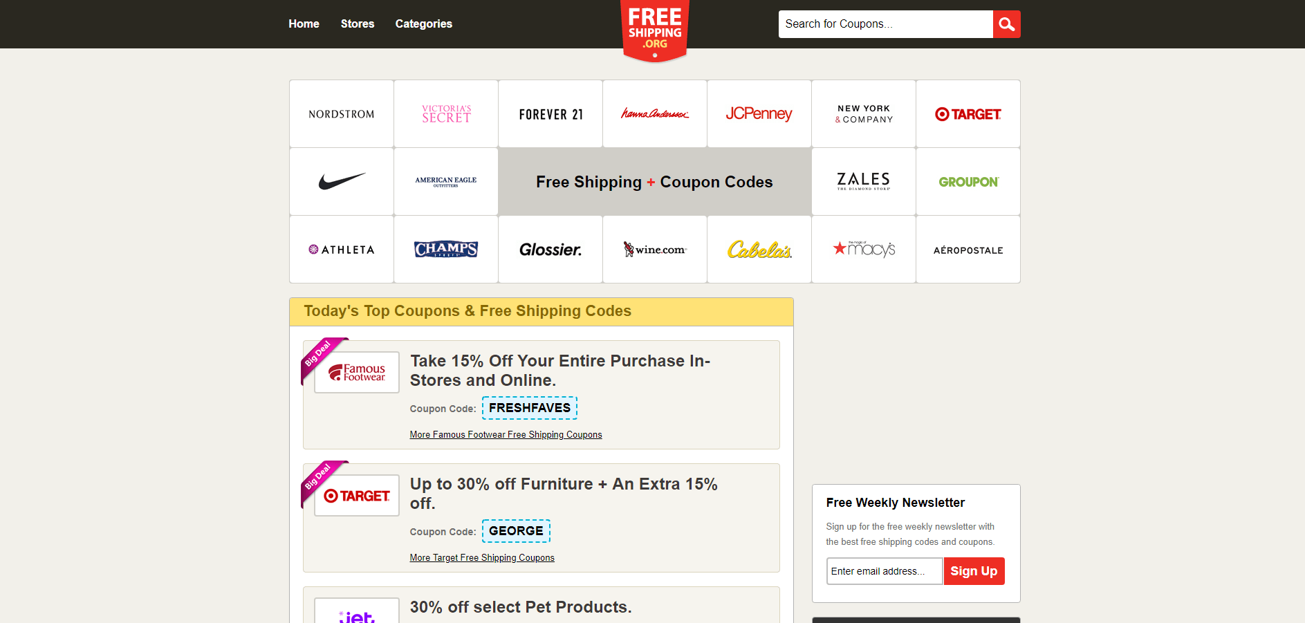 Free Shipping Sites >> 11 Best Websites For Finding Coupons And Deals Online