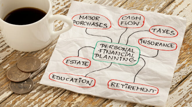 how to create a financial plan without paying for an advisor money