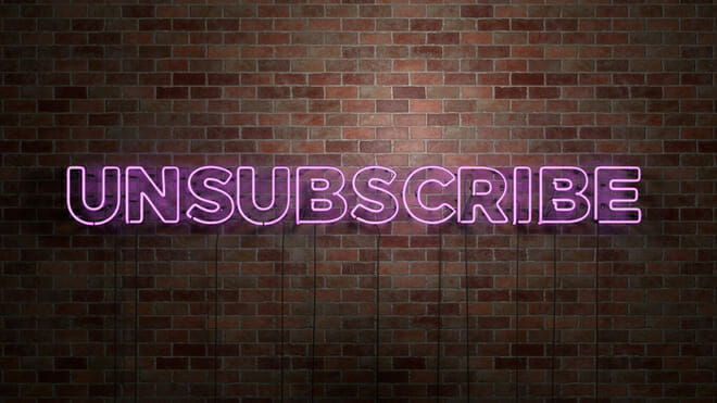 Unsubscribe from some online services