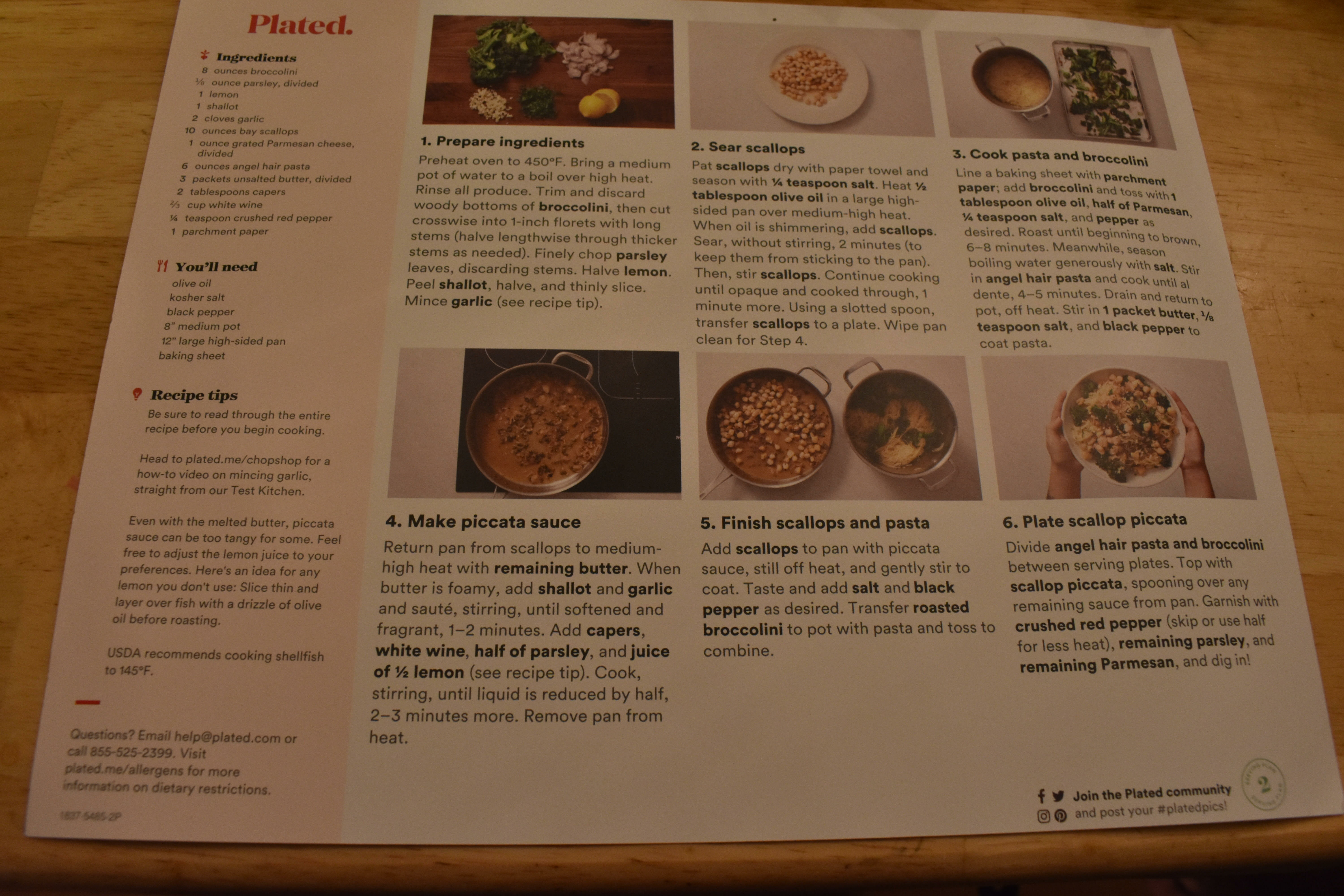 Plated Review - My Experience Using Plated Meal Kit