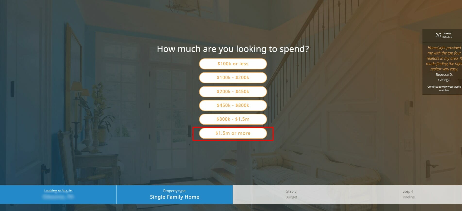 how much are you looking to spend on a house