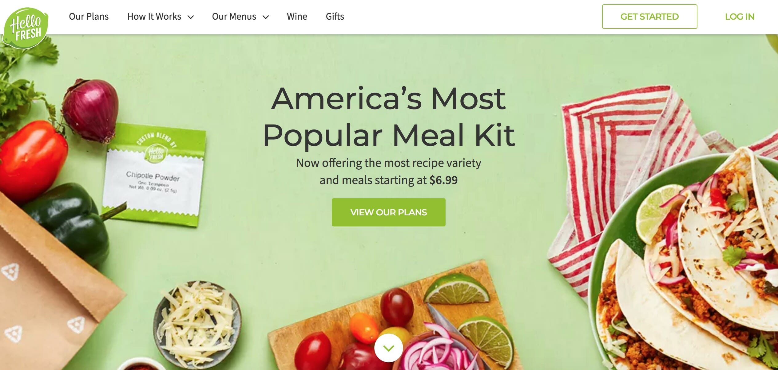 Buy Meal Kit Delivery Service Hellofresh In Stock