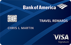 Best credit cards credit score above 750 bank of america travel rewards credit card reheart Choice Image