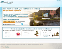 Zendough: Free credit score and credit monitoring.