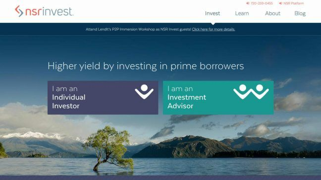 NSR Invest: A New Way To Invest In Peer-to-Peer Loans