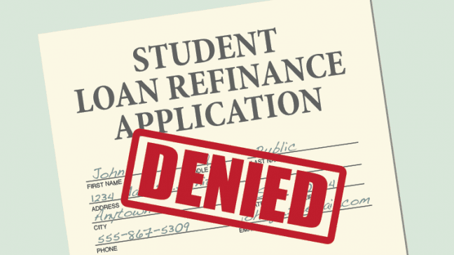 Student Loan Refinance >> What To Do When Your Student Loan Refinance Application Is Denied