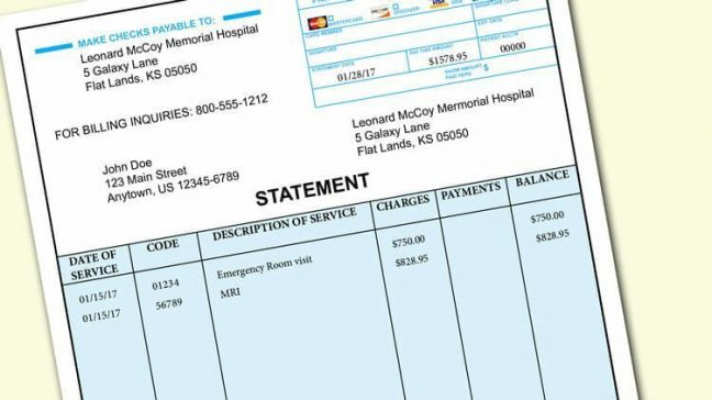 5 Ways To Handle A Surprise Medical Bill Money Under 30