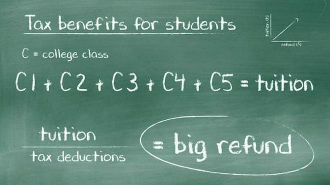 tax benefits for students  how to pay less and get more