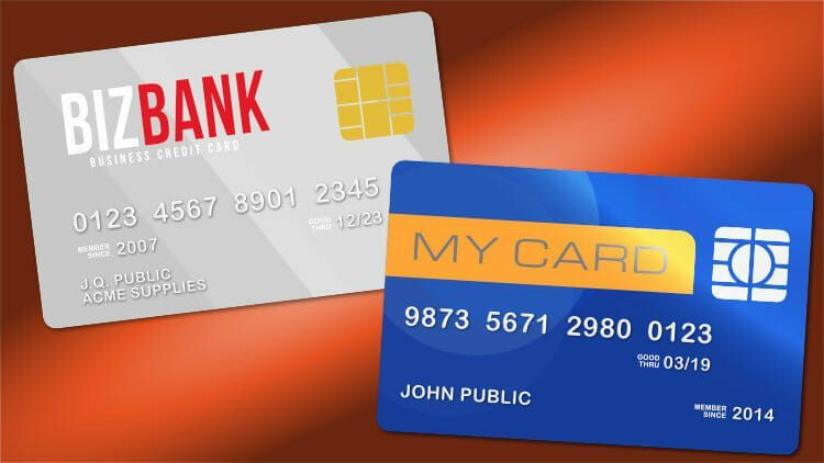 how a separate credit card can make business expenses